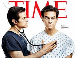 Doktor Mehmet Öz Time'a kapak oldu
