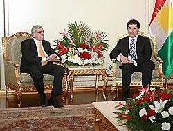 Kürt açılımına Barzani'den destek geldi