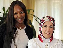 Naomi, Emine Erdoğan'la Buluştu