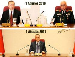 Erdoğan masada tek başına