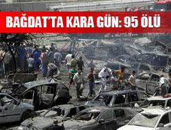Bağdat'ta hedef bakanlıklar: 95 ölü