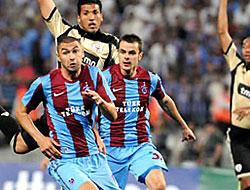 Trabzonspor devler ligi'ne veda etti