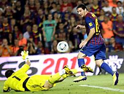 Messi coştu Barça kazandı!