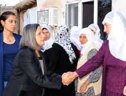 BDP Mizgin'in evine gitti