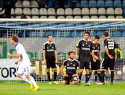 Beşiktaş Ukrayna'da 90+4'te yıkıldı