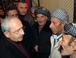 Kılıçdaroğlu, taziye ziyaretinde bulundu