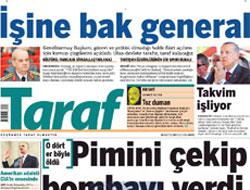 Taraf'tan askeri kızdıracak başlık