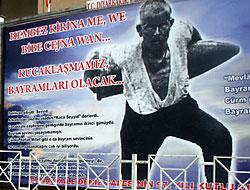 Diyarbakır Valiliği'nden Kürtçe afiş!