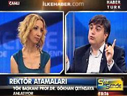 YÖK Başkanı'ndan Büşra Ersanlı'ya destek