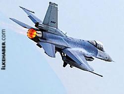 F-16 savaş uçağı Merzifon'da düştü