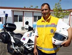 Motosikletli doktorlar hayat kurtaracak