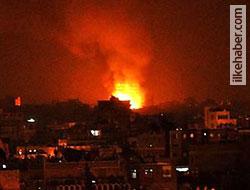 Suriye ordusu Halep'i bombalıyor!