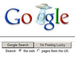 Gizemli Google logosu kafaları karıştırdı.