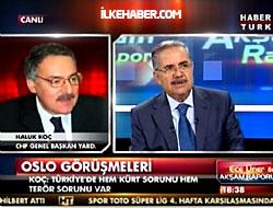 Canlı yayında 'Oslo' tartışması...