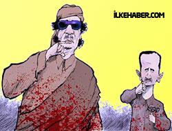 Esed, Kaddafi'ye ihanet etmiş!