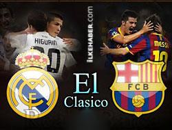 Şimdi El Clasico vakti...