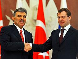Medvedev'den Gül'e başsağlığı mesajı