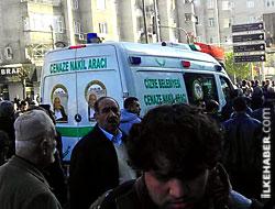 Şerafettin Elçi'nin cenazesi Cizre yolunda