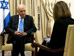 Şimon Peres özrün ardından ilk kez konuştu