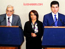 Neçirvan Barzani DTK-BDP heyetiyle görüştü