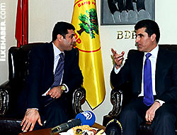 Neçirvan Barzani BDP Genel Merkezi'ni ziyaret etti