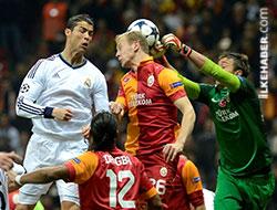 Maç Galatasaray'ın tur Real Madrid'in