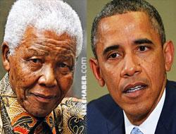 Obama: Nelson Mandela dünya için bir kahraman
