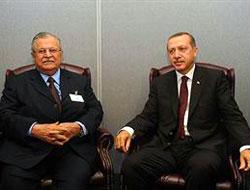 Başbakan Erdoğan Talabani ile görüştü