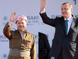 Barzani: Yaşasın Türk ve Kürt kardeşliği, yaşasın özgürlük!