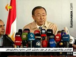 Ban Ki Moon Hewlêr'de