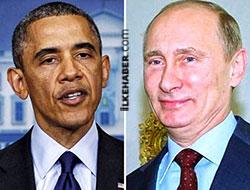 Obama, Putin'le 1 saat Ukrayna'yı görüştü