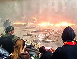 Ukrayna'da sendika binası ateşe verildi: 38 ölü!