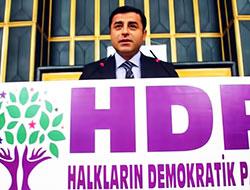 HDP: Demirtaş'ın arkasındayız