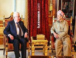 Irak Cumhurbaşkanı, Barzani'yi ziyaret etti