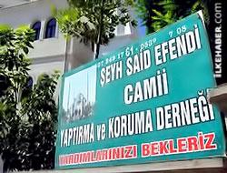 Şeyh Said Efendi Camii'ne resmi izin