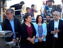 DTK, HDP ve DBP heyeti Kobanê halkı ile buluştu