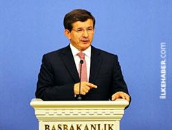Davutoğlu: HDP anayasaya uygun davranırsa görüşmeler devam eder