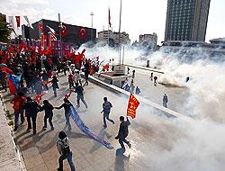 IMF protestosunda 1 kişi hayatını kaybetti