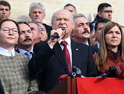 Bahçeli Dersim'de polise hitap etti