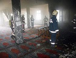 Kundakçı firar etti, camiler alarmda !