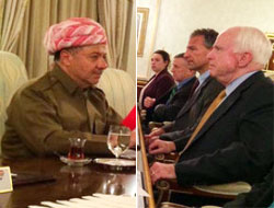 Barzani ve John McCain Almanya'da görüştü