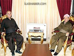 Barzani, Newşirwan Mustafa ile görüştü