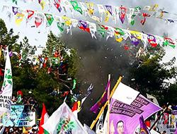 HDP mitingindeki patlamanın zanlısı tutuklandı