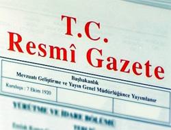Hükümetin istifası Resmi Gazete'de