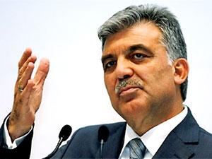 Abdullah Gül'den 'yeni parti' açıklaması