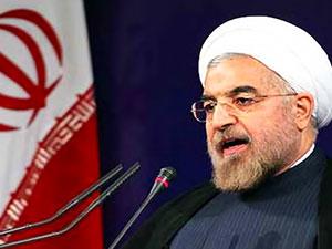 Ruhani: 'İran kuvvetleri Irak ve Suriye'de'