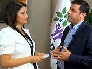 Demirtaş'a Öcalan'a rakip misiniz sorusu