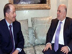 Mesud Barzani'den İbadi'ye tam destek