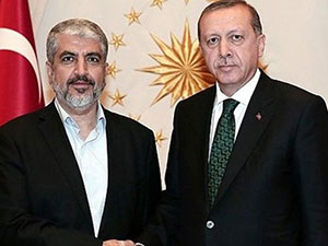 Halid Meşal, Erdoğan'ın ardından Davutoğlu'yla görüştü