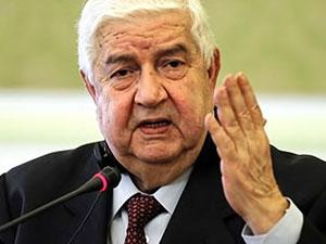 Suriye Dışişleri Bakanı: Suriyeli Kürtlerin IŞİD'e karşı mücadelesi meşru